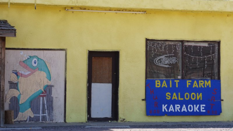 Bait Farm Saloon, Along US 50